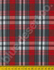 Plaid Fabric 608
